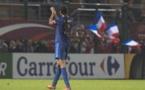 La capitaine Wendie Renard a encore marqué avec les Bleues vendredi soir à Beauvais (Photo : Eric Baledent)