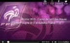 Bleues - Les buts d'AUTRICHE - FRANCE en vidéo (FFF TV)
