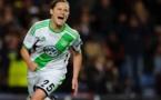 Le penalty réussi par Martina Müller pourrait avoir son importance pour le match retour (photo club)