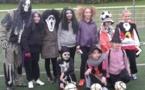 Il y a deux semaines, on n'a pas manqué de fêter Halloween du côté de l'école de foot de Templemars !