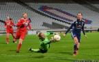 Lotta Schelin et les Lyonnaises se sont heurtées à un solide bloc allemand (Photos : Alex Ortega)
