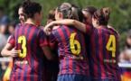 Le FC Barcelone déroule en Espagne