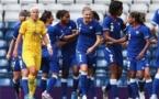 Les Bleues lors du dernier match contre la Suède aux JO de 2012