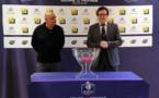 Lionel Boland, à droite, aux côtés de Marcel Basque (photo FFF)