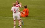 Lisa Evans a scoré trois fois (photo Sébastien Duret)
