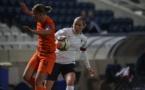 La capitaine Delannoy a évolué à droite contre les Pays-Bas (photo Sébastien Duret)