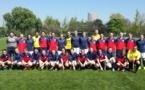 Avant match entre Lyon et Brest en quart de finale