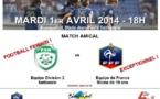 Amical - BLANQUEFORT - FRANCE U19, ce mardi (18h00)