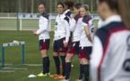 Diaporama - L'entrainement des Bleues du 2 avril en photos