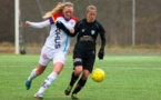L'internationale française Sabrina Viguier a trouvé de nouveaux objectifs à Göteborg (photo SVT)