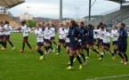 VIngt-quatre joueuses se sont entraînées ce mardi à Besançon. Seule Marion Makuch manquait à l'appel.