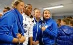 En photos - Les Bleues à la rencontre des lauréates du Foot des Princesses