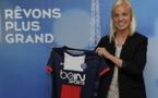 Nouvelle internationale Suédoise dans le championnat de France, sous les couleurs du PSG cette fois-ci (photo club)