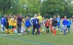 Cette année, la section féminine du FC Nantes regroupait des joueuses des catégories U6 à U15. Photos C.-H.C. (Football44.fr)