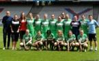 L'équipe d'Hénin lors du match du 1er juin à Gerland, la plus jeune de la saison (photo Alex Ortega)