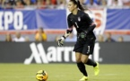 "Hope Solo visera une nouvelle ""clean-sheet"""