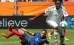 Desire Oparanozie a joué avec le Nigeria contre la France lors de la Coupe du Monde 2011 (photo AP)