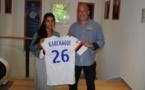 D1 - Premier contrat pro pour Sakina KARCHAOUI