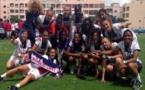Les Franciliennes ont battu l'Atletico de Madrid (2-0) en finale