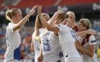 La joie hollandaise pour le premier titre du pays en foot féminin (photo uefa.com)