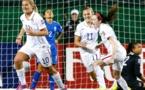 Lindsay Horan libère les Etats-Unis (photo fifa.com)