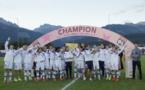 Premier titre pour l'OL (photo Valais Cup)