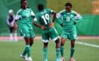 Les Nigerianes dansent sur leur deuxième but (photo FIFA.com)