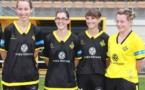 Clémence Donne, Pauline Lefeuvre, Léa Le Garrec, Mégane Guezille : une partie des recrues de l'USSM (crédit : page facebook du club)