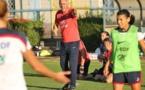 Philippe Bergerôo exigent dans la dernière ligne droite (photo FFF)