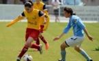 Solène Barbance retrouve la D1 moins d'un an après son dernier match, le 15 septembre 2013 avec Muret face à l'OL (1-10)