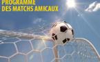 Amicaux - Résultats du 27 août