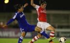 Arsenal a perdu un match décisif à domicile jeudi dernier face à Chelsea (photo Arsenal)