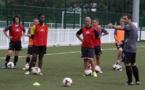 Sylvain Blaise lors de la première séance d'entrainement (photo Patrick Charbit)