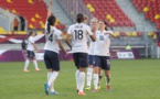 Les Bleues possèdent trois points d'avance sur la Finlande grâce à leur double succès face à l'Autriche. Car c'est face aux Autrichiennes que la Finlande a perdu des points. (Photo : Eric Baledent)