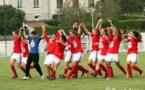 La joie rémoise après le succès contre Saint-Memmie (photo club)