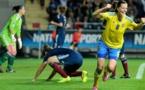 Schelin a marqué lors du match décisif face à l'Ecosse de Beattie qui sera barragiste (photo SVF)