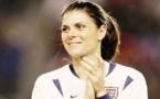 Mia Hamm sous le maillot US (photo DR)