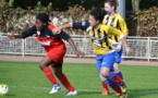 Le FC Evry (DHR) aura l'avantage de jouer à domicile (crédit : FC Evry)