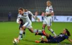 Amandine Henry a été plus en difficulté que lors du match de D1 à Gerland