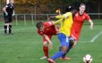 Marlyse Ngo Ndoumbouk n'a pas marqué contre Vendenheim (photo Elise Rocher/FCV)