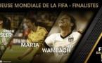 Révélation des nominés pour la cérémonie du FIFA Ballon d'Or 2014 : Stephanie ROCHE encore en lice !