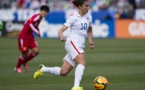 Carli Lloyd avait ouvert le score pour les Etats-Unis (photo USSoccer)