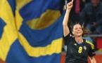 Lotta Schelin espère une belle année 2015 avec la Suède et Lyon (photo FIFA)
