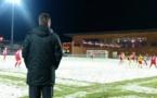 Sur le terrain enneigé d'Albi, les joueuses de Nicolas Bach ont décroché leur ticket pour les huitièmes de finale (photo RAF Féminin)
