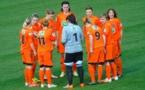 Le parcours des Lorientaises a pris fin au stade du Moustoir. Photo page Facebook FC ELLE - Lorient