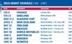 USA - Dix matchs de préparation avant le Mondial