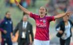Camille Abily, ambassadrice (photo UEFA)