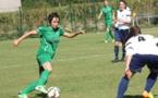 """Les Vertes ont dominé mais ne l'emportent """"que"""" un zéro (photo : page Facebook du club)"""
