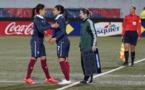 Louisa Necib a dû quitter ses partenaires prématurément (photo S Duret)