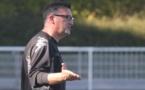 Philippe Serre avait été nommé entraîneur de l'équipe fanion orvaltaise l'été dernier. Photo C.-H.C. (Football44.fr)